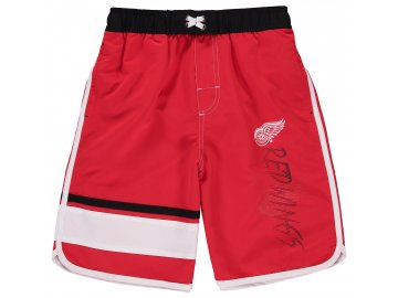 Dětské plavky Detroit Red Wings Color Block Swim Trunks