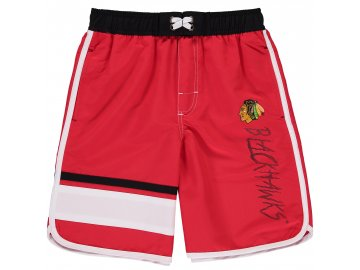 Dětské plavky Chicago Blackhawks Color Block Swim Trunks