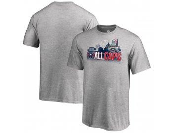 Dětské tričko Washington Capitals 2018 Stanley Cup Champions Change on the Fly Celebration (Velikost Dětské XL (13 - 15 let))