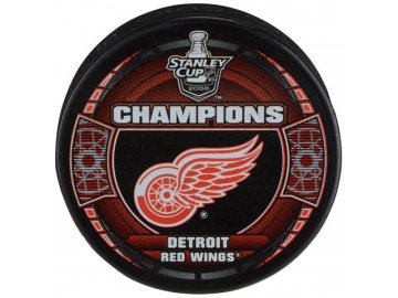 Puk Detroit Red Wings 2008 Stanley Cup Champions