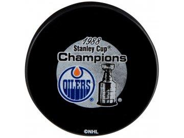 Puk Edmonton Oilers 1988 Stanley Cup Champions