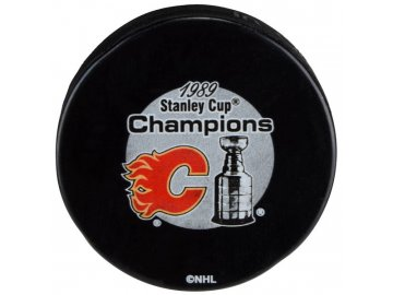 Puk Calgary Flames 1989 Stanley Cup Champions