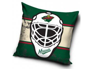 Polštářek Minnesota Wild NHL Maska