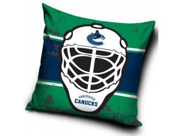 Polštářek Vancouver Canucks NHL Maska