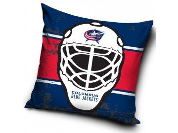 Polštářek Columbus Blue Jackets NHL Maska
