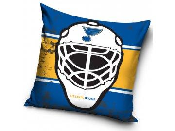 Polštářek St. Louis Blues NHL Maska