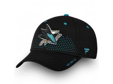 Kšiltovka San Jose Sharks 2018 NHL Draft Flex