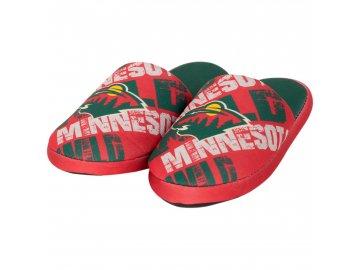 Dětské pantofle Minnesota Wild Digital Print