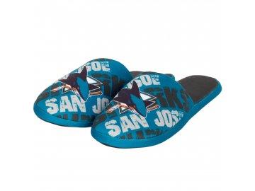 Dětské pantofle San Jose Sharks Digital Print