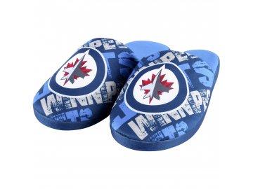 Dětské pantofle Winnipeg Jets Digital Print