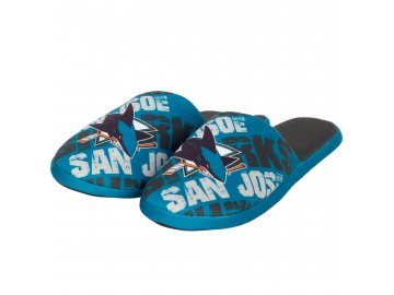 Pantofle San Jose Sharks Digital Print