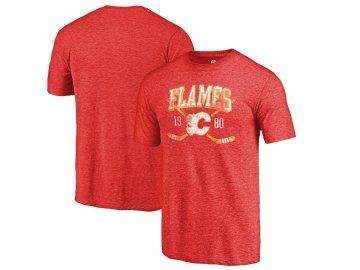 Tričko Calgary Flames Vintage Line Shift Tri-Blend