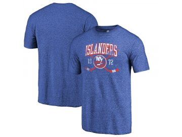 Tričko New York Islanders Vintage Line Shift Tri-Blend