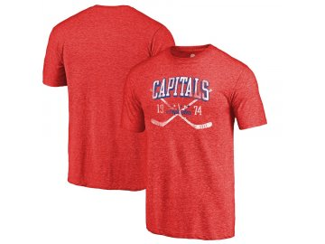 Tričko Washington Capitals Vintage Line Shift Tri-Blend