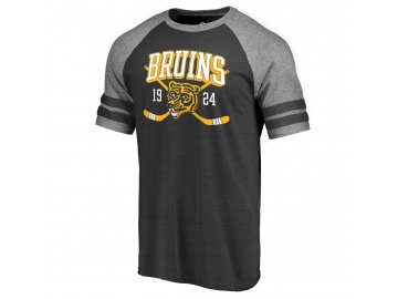 Tričko Boston Bruins Line Shift Tri-Blend