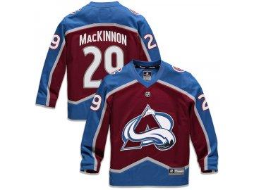 Dětský Dres #29 Nathan MacKinnon Colorado Avalanche Replica Home Jersey