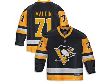 Dětský Dres #71 Evgeni Malkin Pittsburgh Penguins Replica Home Jersey