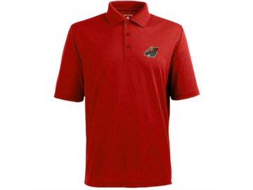 Tričko Minnesota Wild Pique Xtra-Lite Polo Red