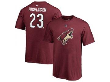Dětské Tričko #23 Oliver Ekman-Larsson Arizona Coyotes Stack Logo Name & Number