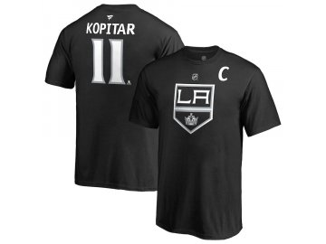 Dětské Tričko #11 Anze Kopitar Los Angeles Kings Stack Logo Name & Number
