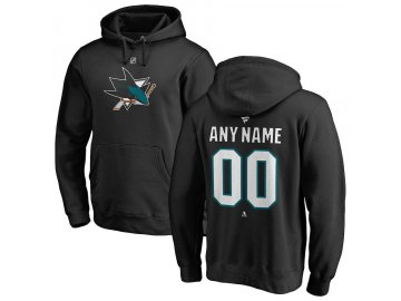 Mikina San Jose Sharks Custom Team Authentic