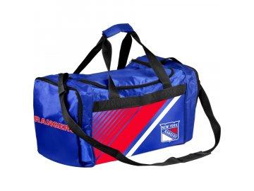 Sportovní Taška New York Rangers Border Stripe Duffel Bag