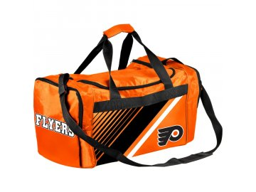 Sportovní Taška Philadelphia Flyers Border Stripe Duffel Bag