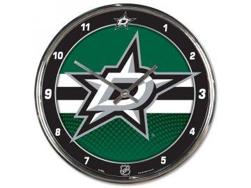Hodiny Dallas Stars WinCraft Chrome Wall Clock