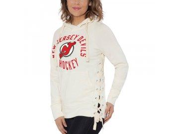 Dámská Mikina New Jersey Devils Weekend Raglan Pullover Hoodie