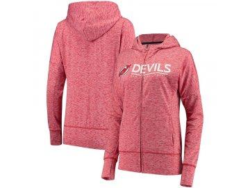 Dámská Mikina New Jersey Devils Reciever Full-Zip Hoodie