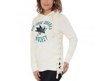 Dámská Mikina San Jose Sharks Weekend Raglan Pullover Hoodie
