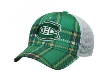 Kšiltovka Montreal Canadiens Adidas St. Patrick's Day Trucker