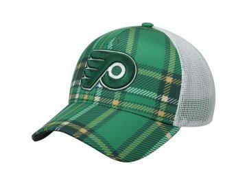 Kšiltovka Philadelphia Flyers Adidas St. Patrick's Day Trucker
