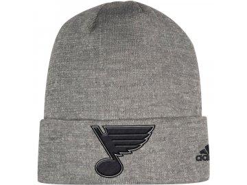 Zimní Čepice St. Louis Blues Adidas India Cuffed Knit