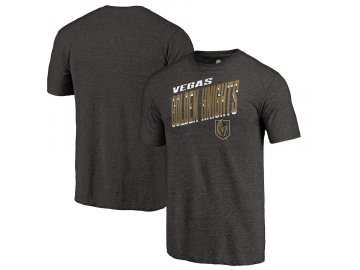 Tričko Vegas Golden Knights Slant Strike Tri-Blend