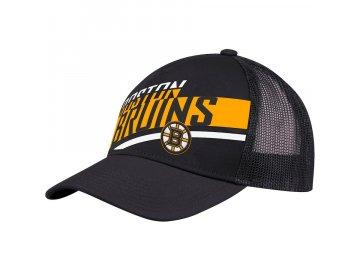 Kšiltovka Boston Bruins Adidas Laser Trucker