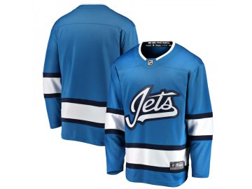 Mikina Winnipeg Jets Adidas Jersey Lace-Up Pullover Hoodie - Fanda ... b4bb36c25