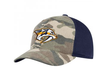 Kšiltovka Nashville Predators Adidas Camo Adjustable