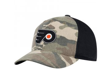 Kšiltovka Philadelphia Flyers Adidas Camo Adjustable
