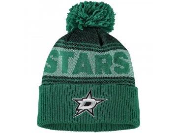 Zimní Čepice Dallas Stars Adidas Mascot Cuffed Knit