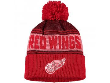 Zimní Čepice Detroit Red Wings Adidas Mascot Cuffed Knit