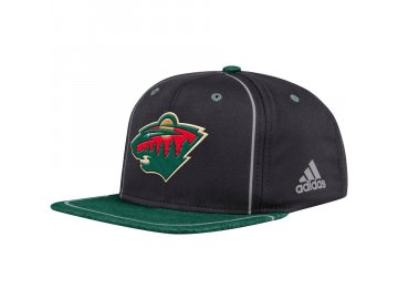 Kšiltovka Minnesota Wild Adidas Bravo Snapback