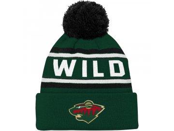 Dětský Kulich Minnesota Wild Wordmark
