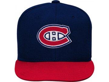 Dětská Kšiltovka Montreal Canadiens Two-Tone Flatbrim Snapback