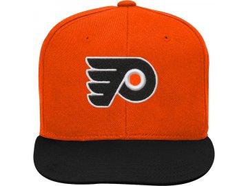 Dětská Kšiltovka Philadelphia Flyers Two-Tone Flatbrim Snapback
