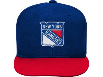 Dětská Kšiltovka New York Rangers Two-Tone Flatbrim Snapback