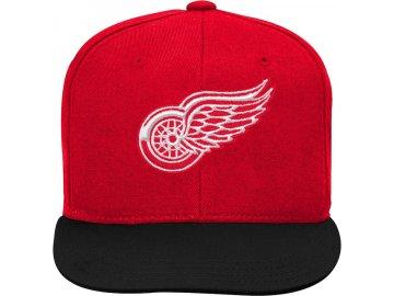 Dětská Kšiltovka Detroit Red Wings Two-Tone Flatbrim Snapback