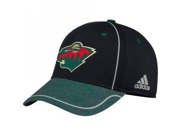 Kšiltovka Minnesota Wild Adidas Alpha Flex