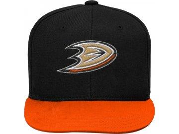 Dětská Kšiltovka Anaheim Ducks Two-Tone Flatbrim Snapback