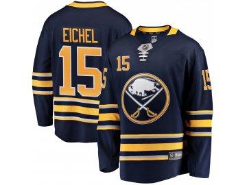 Dres Buffalo Sabres #15 Jack Eichel Fanatics Branded Breakaway Home